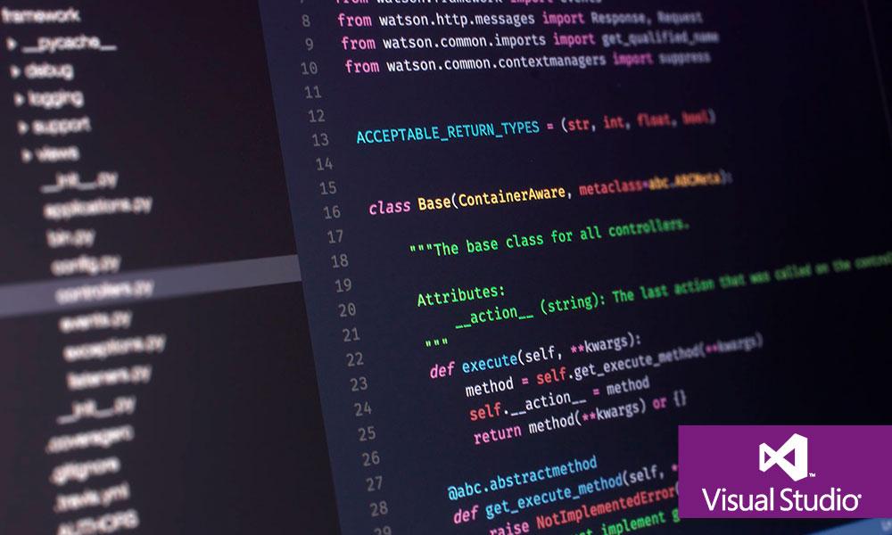 Programación con Visual Studio